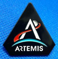 NASA Artemis Program Lapel Pin